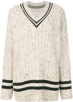Maison Margiela oversized cricket jumper