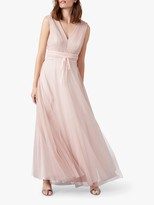 Phase Eight Bronwyn Chiffon Maxi Dress, Cameo Pink