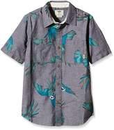 Vans Boy's Keyes Boys Short Sleeve Shirt
