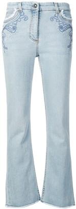 Etro slim bootcut jeans