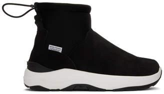 Suicoke Black Maharishi Edition Maho Sneakers