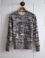 Tailgate Men's Michigan Camo Sweatshirt