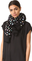 Marc Jacobs Pastel Dot Large Stole Scarf