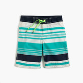 J.Crew Boys' board short in beachway stripes