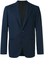 Caruso smart buttoned blazer - men - Cupro/Wool - 50