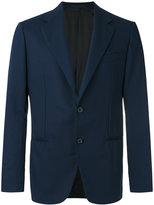 Caruso smart buttoned blazer - men - Wool/Cupro - 50