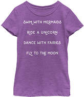 Fifth Sun Purple Berry 'Swim With Mermaids' Tee - Toddler & Girls