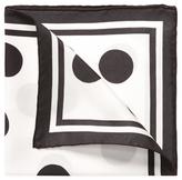 """Tom Ford Printed Pocket Square, 15.5"""" x 15.5"""""""