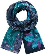 Desigual Women's Foulard_rect.Bollywood Winter Scarve,One Size