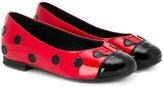 Dolce & Gabbana ladybird ballerinas