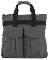Topman Textured Holdall Backpack