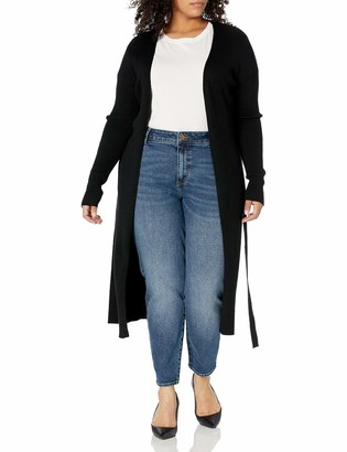 Forever 21 Women's Plus Size Ribbed Duster Cardigan