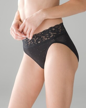 Soma Intimates Super Soft Signature Lace High Leg