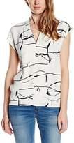 Nümph Women's Regular fit Shirt - Off-white -