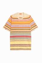 Missoni Multi-Stripe Crew-Neck T-Shirt