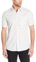 Burnside Men's Society Short Sleeve Woven Shirt