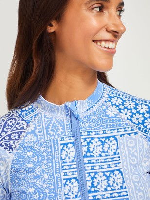 J.Mclaughlin McKenzie Rash Guard in Patchwork