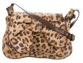 3.1 Phillip Lim Leopard Print Suede Shoulder Bag