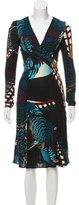 Issa Long Sleeve Midi Dress