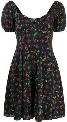 Versace Jeans Couture Paisley Print Dress