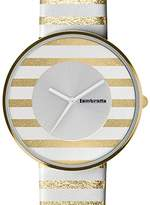 Lambretta Fashion Cielo Stripes Gold Women's Watch GOL