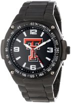 Game Time Unisex COL-WAR-TXT Warrior Texas Tech Analog 3-Hand Watch