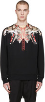Marcelo Burlon County of Milan Black Victor Pullover