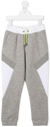 Boss Kidswear TEEN colour-block track pants
