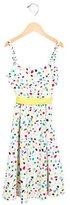 Moschino Girls' Printed Sleeveless Dress