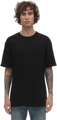 Maison Margiela OVERSIZE COTTON T-SHIRT W/ STITCHING