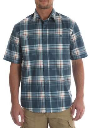 Wrangler Tall men's short sleeve utility shirt