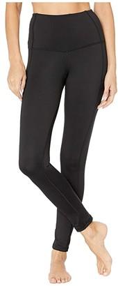 tasc Performance Uptown Ultra High-Rise Leggings (Black) Women's Clothing