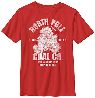 Fifth Sun Boys' Tee Shirts RED - Red 'North Pole Coal Co.' Tee - Boys