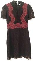 Sandro Spring Summer 2018 Black Lace Dress for Women
