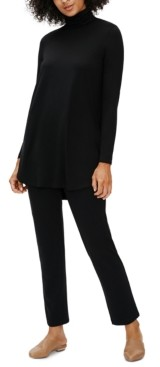 Eileen Fisher System Mock-Neck Tunic