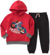 Kids Headquarters 2-Pc. Graphic-Print Hoodie & Pants Set, Baby Boys