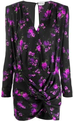 Magda Butrym floral print short dress