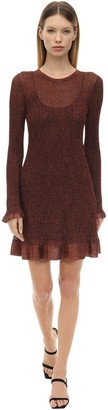 M Missoni Lurex Viscose Knit Mini Dress
