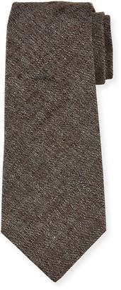 Kiton Men's Solid Silk Tie