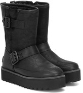 UGG Classic Rebel leather ankle boots