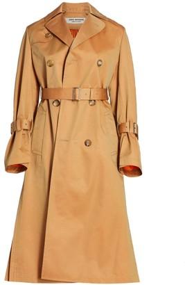 Junya Watanabe Reversible Pleated Trench Coat