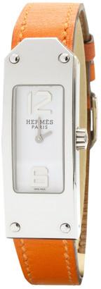 Hermã ̈S HermAs Kelly II Orange Steel Watches
