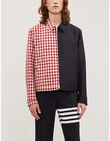 Thom Browne Checked wool jacket