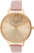 Olivia Burton Women's Big Dial Watch Dusty Pink/Gold