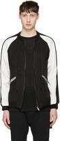 Christian Dada Black Damaged Souvenir Jacket