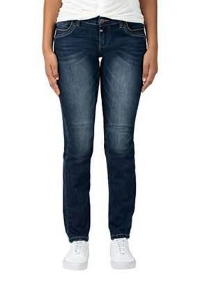 Timezone Women's Slim Tahilatz Straight Jeans,W32/L32 (Size: 32/32)