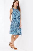 J. Jill Linen A-Line Sleeveless Dress
