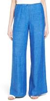 Nic+Zoe Women's Drifty Wide Leg Linen Trousers