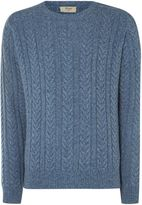 T.M.Lewin Men's Plain Crew Neck Pull Over Jumpers