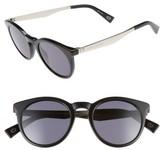 Marc Jacobs Women's 47Mm Keyhole Sunglasses - Black